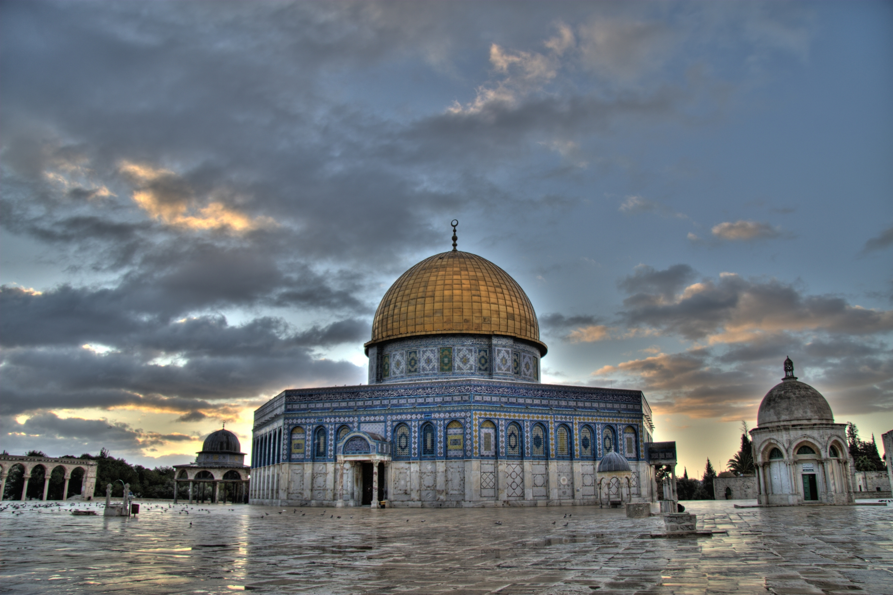 Dome Of The Rock Wallpaper Hd